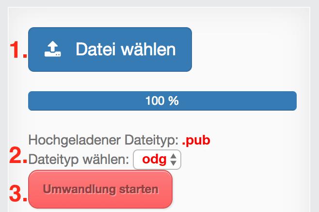 Pub Dateien öffnen