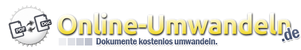 Dokumente und Dateien kostenlos online umwandeln - Online-Umwandeln.de
